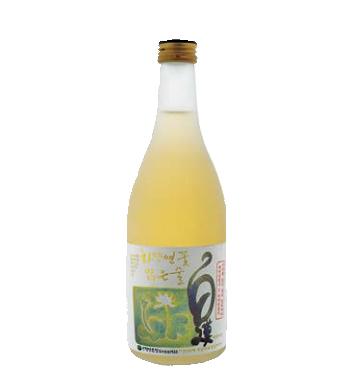 하얀연꽃 백련맑은 술