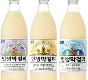 서울장수 '인생막걸리' 출시 4개월만에 100만병 팔려