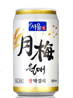 월매 쌀막걸리(캔)