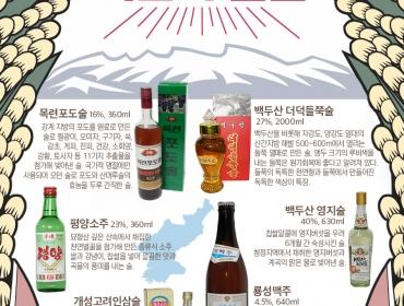 언제쯤 맛볼 수 있을까? 북한의 술들