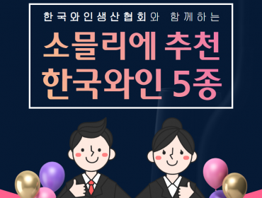전통주갤러리 [카드뉴스] 소믈리에 추천 한국와인 5종