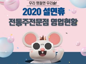 2020년 설연휴 전통주전문점 영업현황