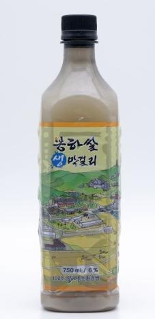 봉하쌀 생막걸리